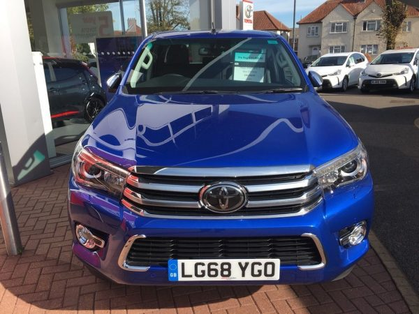 Buy Used 2018 Toyota Hilux 2.4 D-4D Invincible X Double Cab Pickup