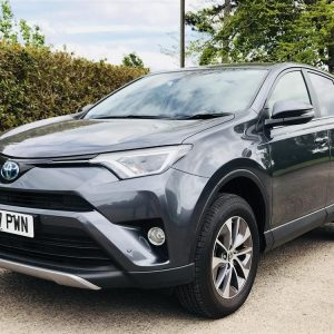 Buy Used 2017 Toyota RAV4 2.5 VVT-I HYBRID BUSINESS EDITION PLUS 5DR CVT AUTOMATIC TSS