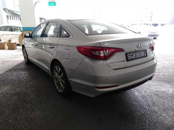 2015 Hyundai Sonata 4