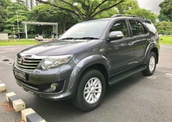 2012 Toyota Fortuner Used Car For Sale