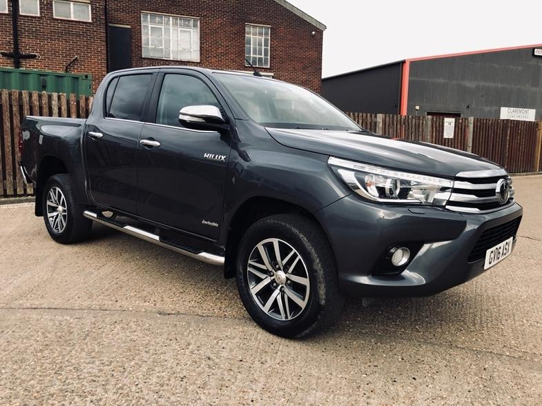 2016 Toyota Hilux RHD Used Car For Sale