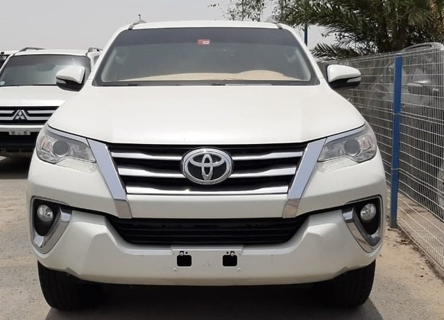 2017 Toyota Fortuner LHD Used Car For Sale