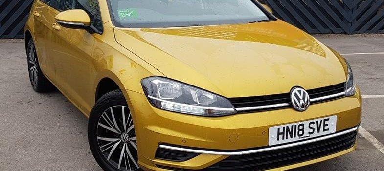 2018 Volkswagen Golf RHD Used Car For Sale